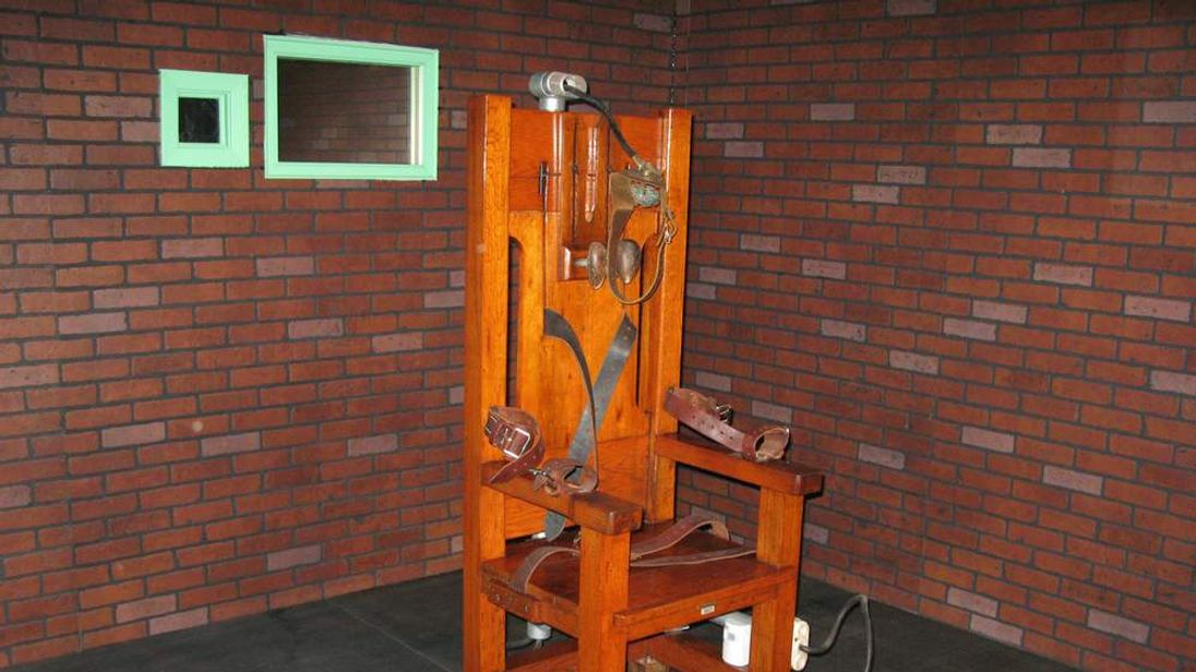 """""""Old Sparky"""", the decommissioned electri"""