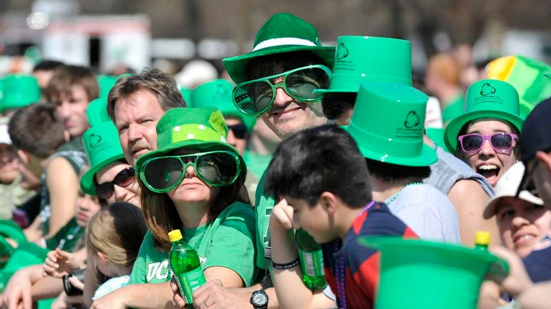 Chicago Celebrates St Patricks Day