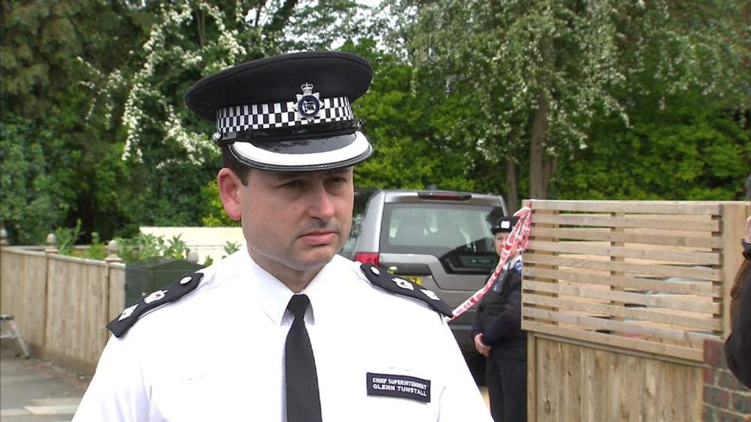 Kingston Borough Commander Chief Supt Glenn Tunstall
