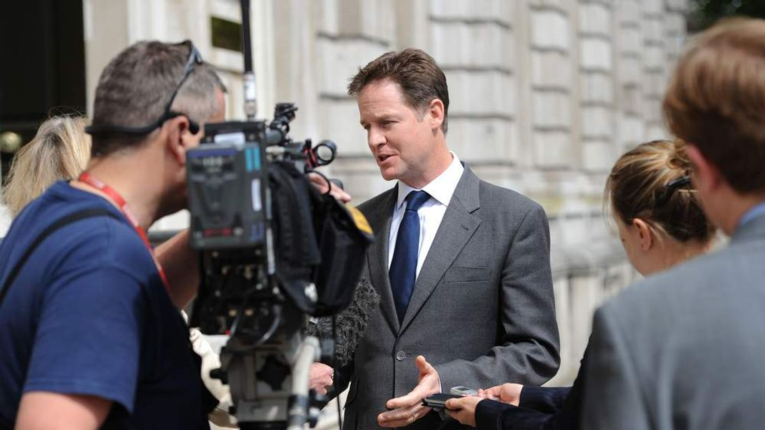 Deputy Prime Minister Nick Clegg admitted the Lib Dems had a bad night