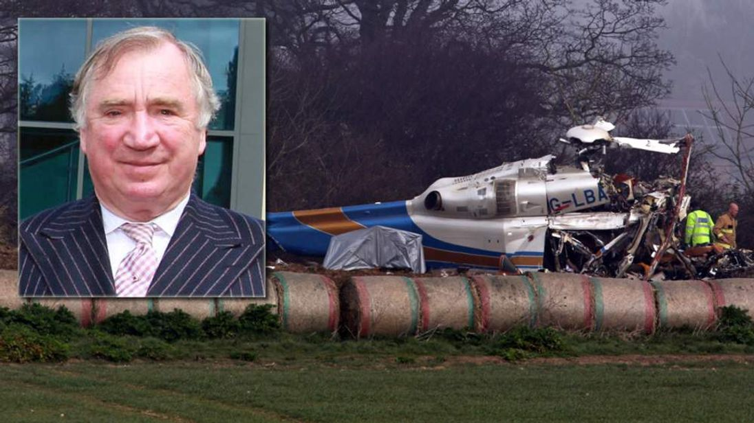 Gillingham helicopter crash