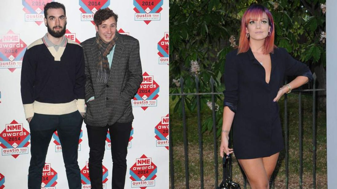 Two Door Cinema Club and Lily Allen