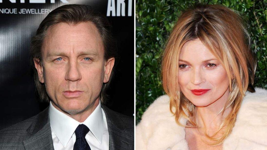 Daniel Craig and Kate Moss