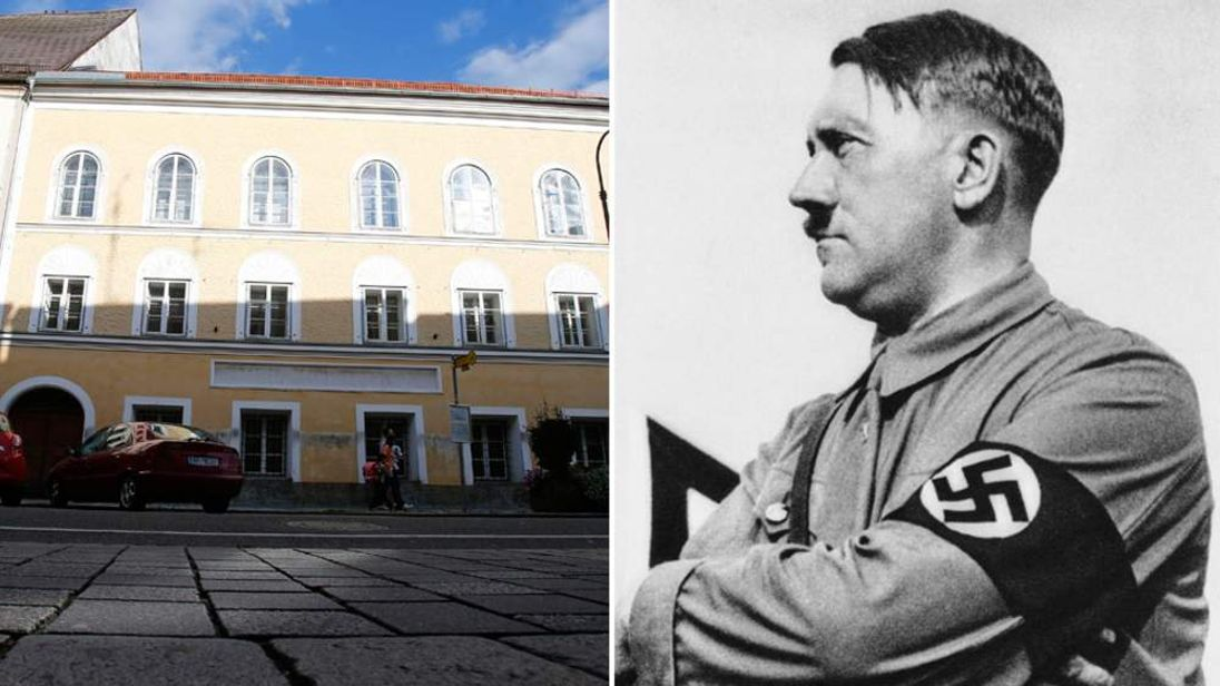 The home of Adolf Hitler's birth in Braunau