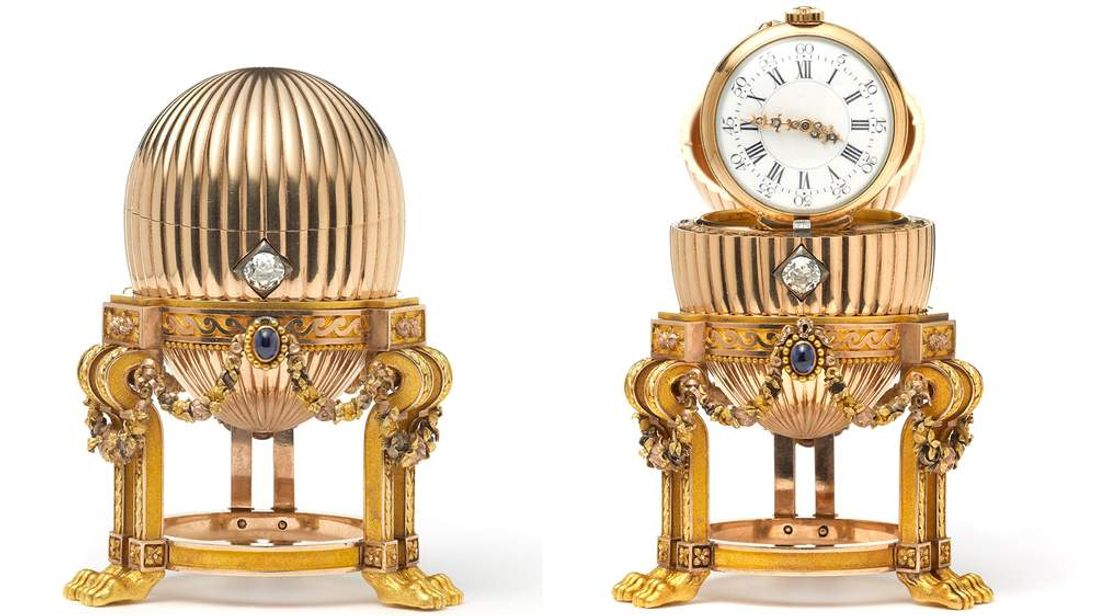 Ultra-rare faberge egg found