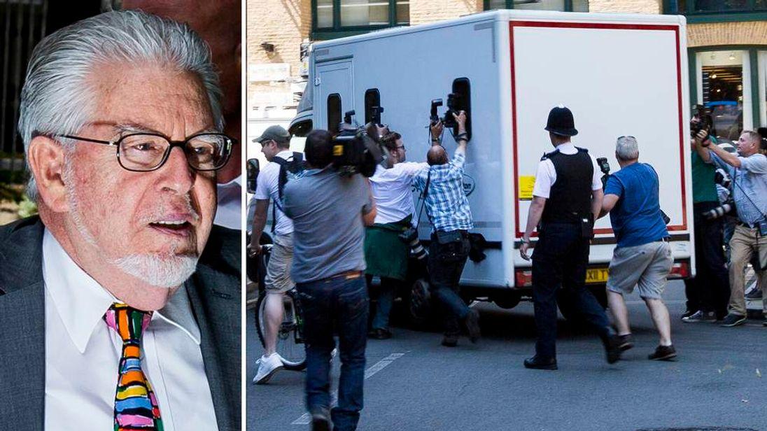 Entertainer Rolf Harris Sentenced After Indecent Assault Trial
