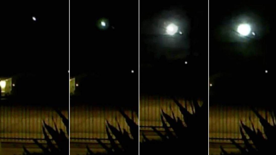 Meteor Sightings in California