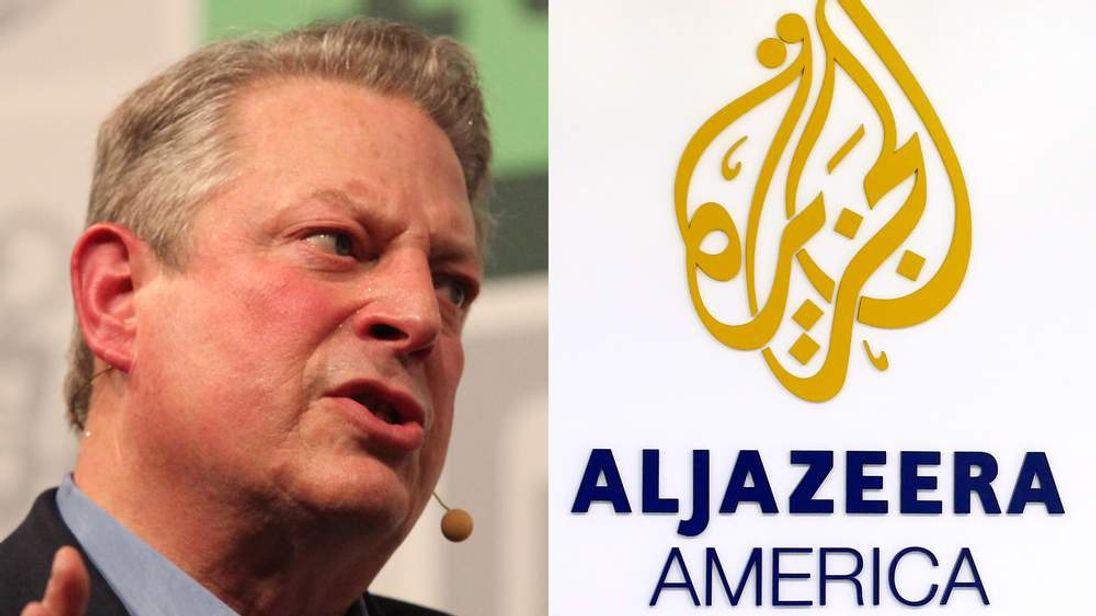 Al Gore / Al Jazeera America compo
