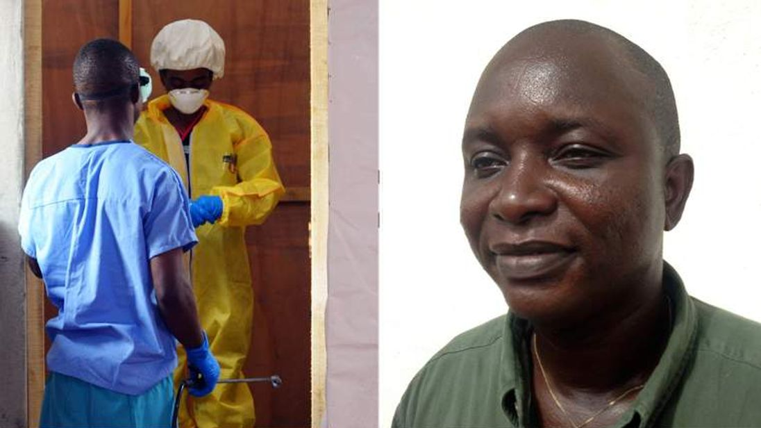 British doctors are on the look out for Ebola which killed Dr Sheikh Umar Khan