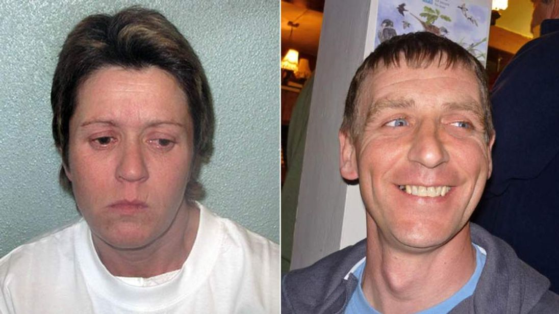 Killer Karen Otmani and victim Shaun Corey