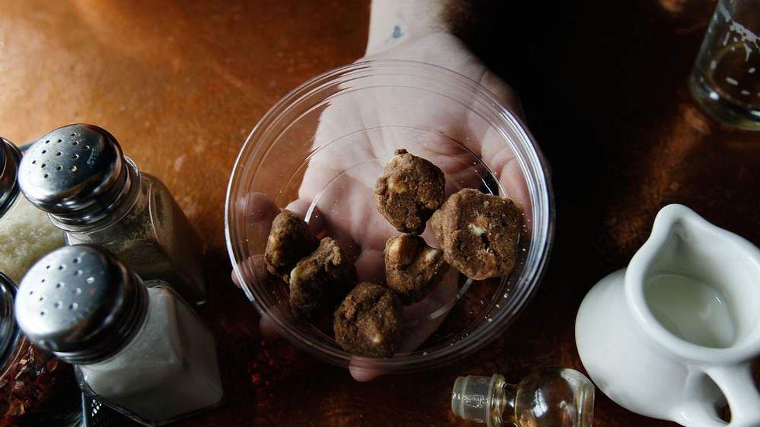 Marijuana-infused cookie