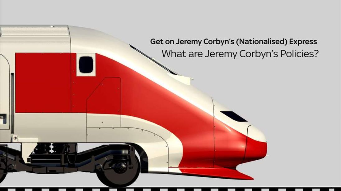 Corbyn Policy Train