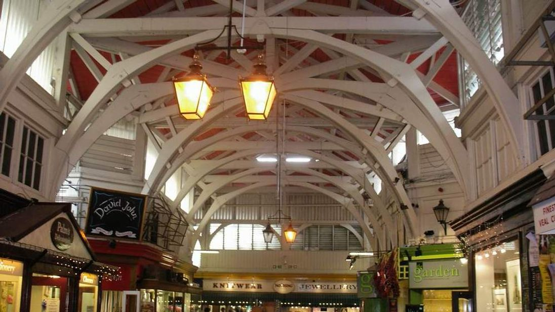 Oxford's covered market