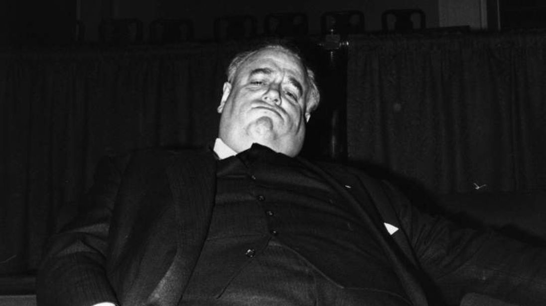 Sleepy Cyril Smith