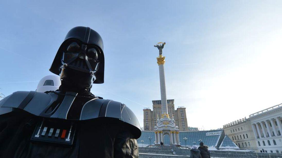 The Ukrainian Internet Party's Darth Vader