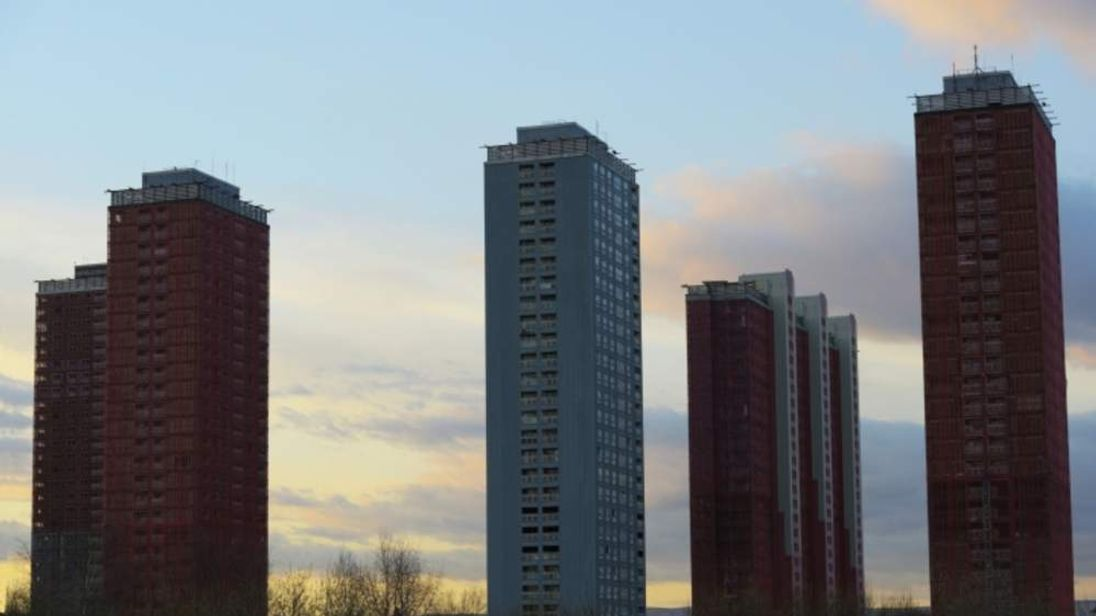 The Red Road tower blocks
