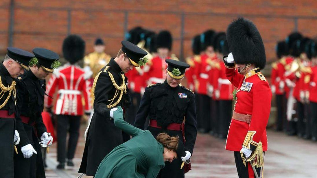 Royal visit to Aldershot