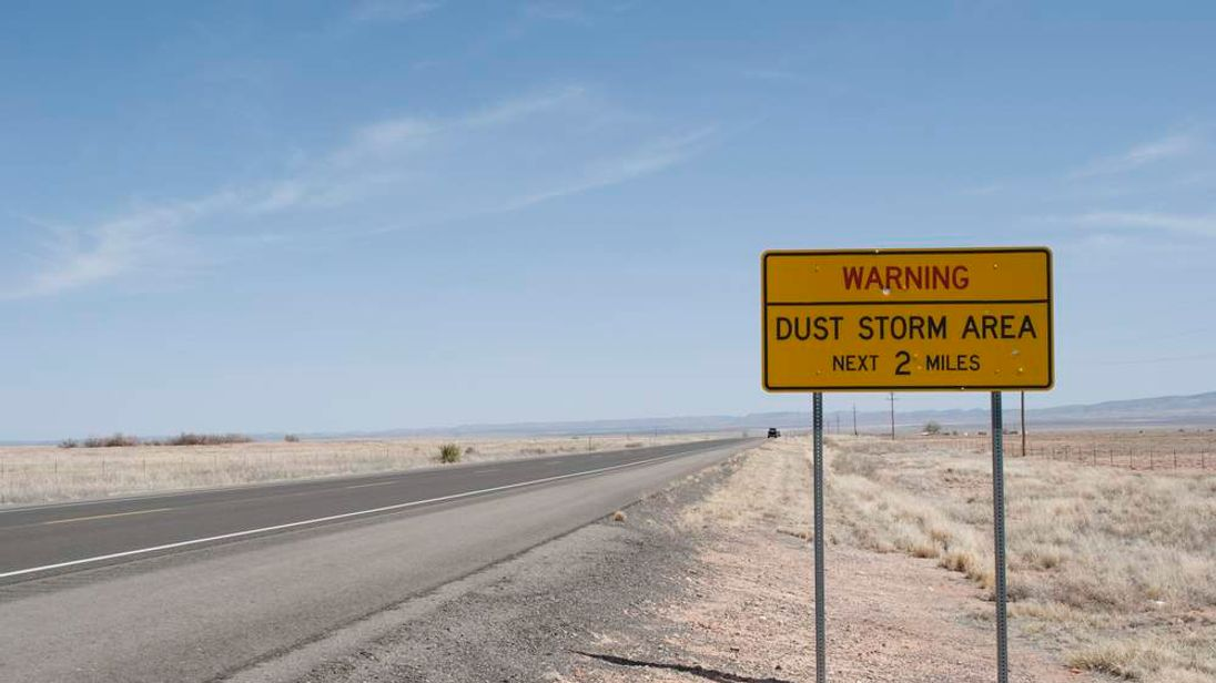 New Mexico Dust Storm