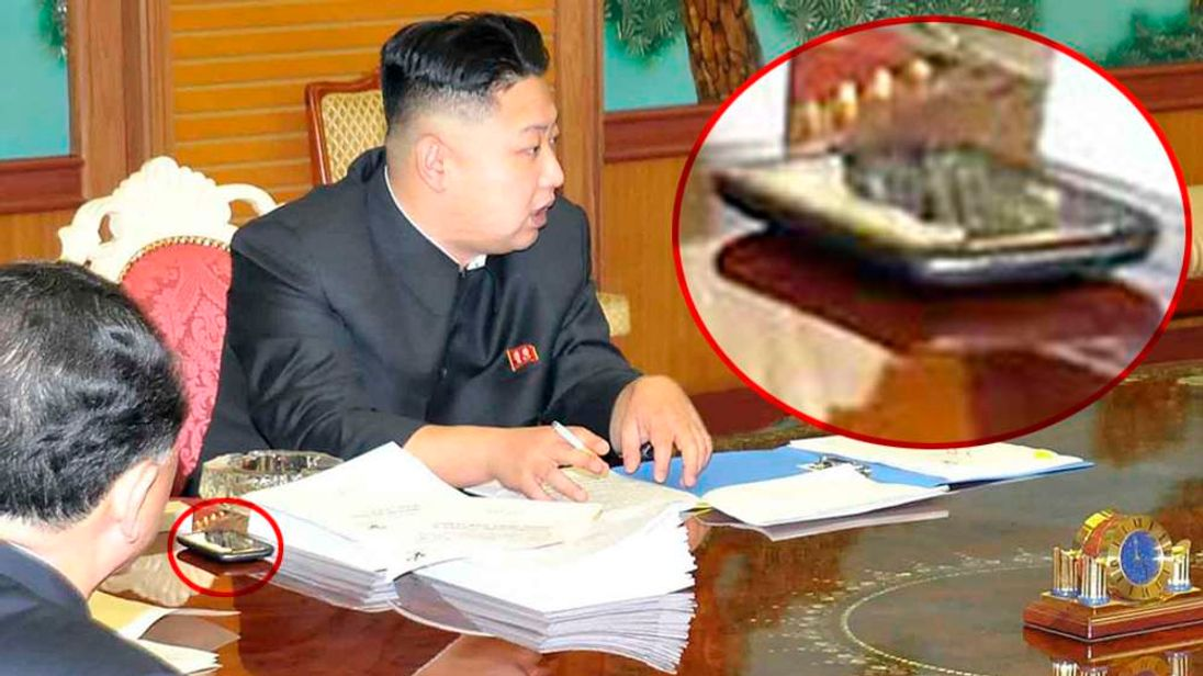 North Korean leader Kim Jong-Un presides over a consultative meeting with officials in Pyongyang