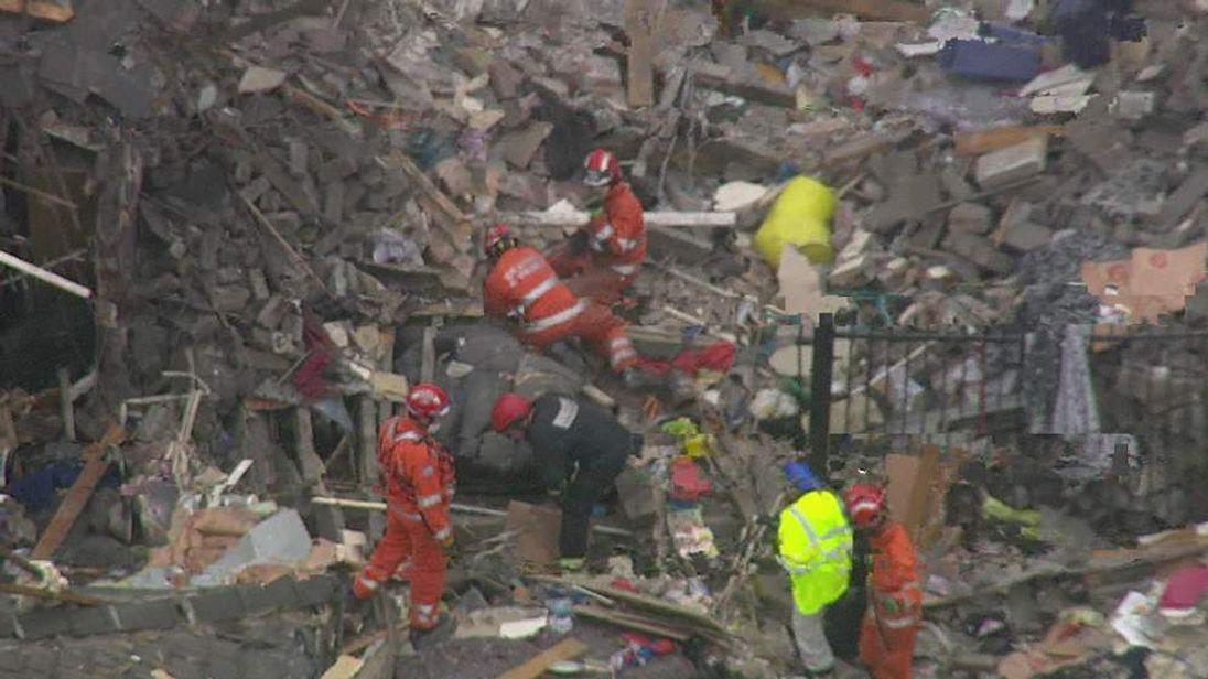 Oldham Explosion Rescuers