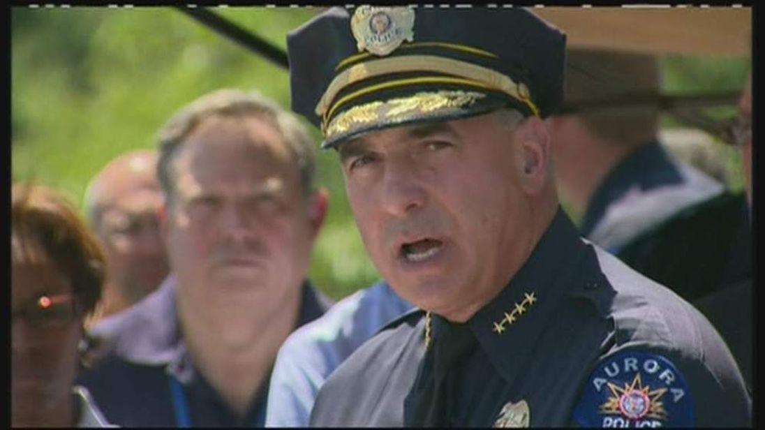 Aurora police chief Dan Oates