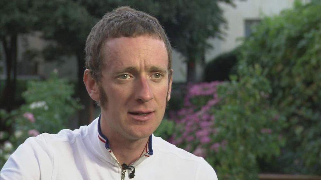 Bradley Wiggins speaks to Sky News