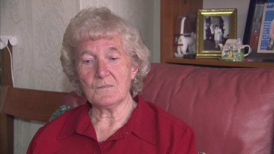 June Thornton talks to Sky News