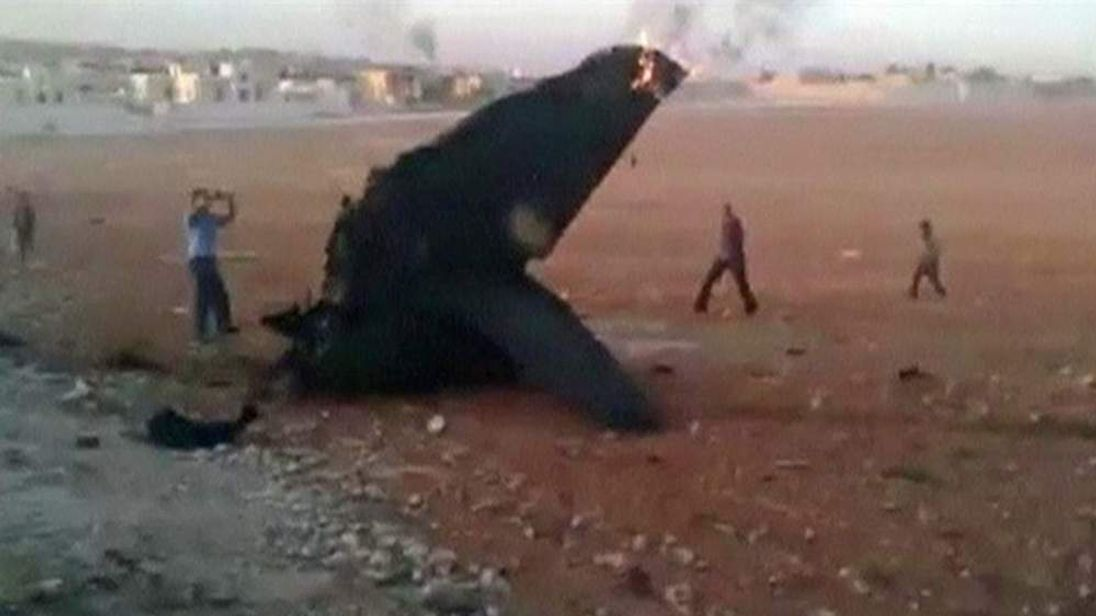 Downed jet in Syria