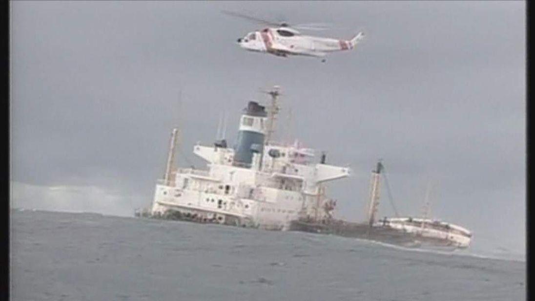 Spanish Prestige Oil Spill 2002