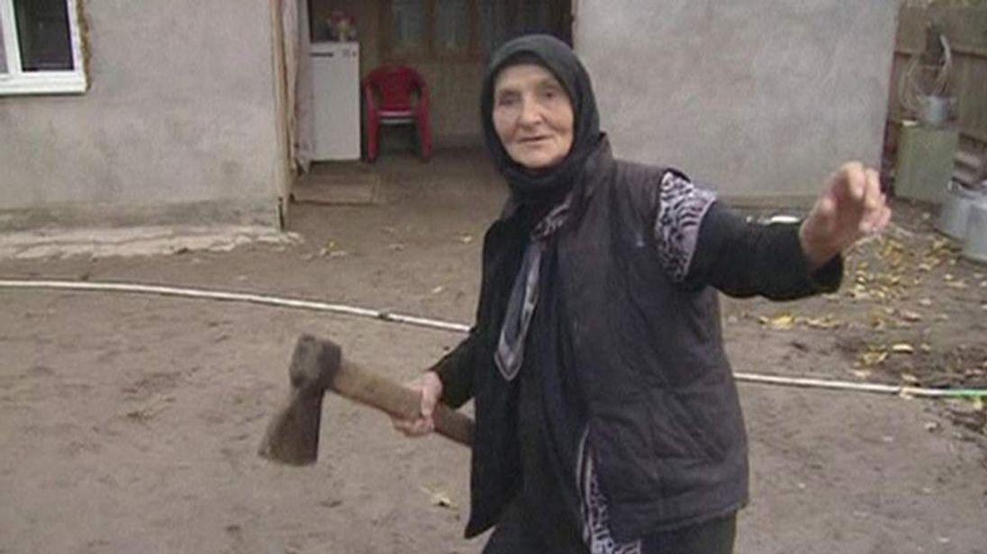 Russian grandmother