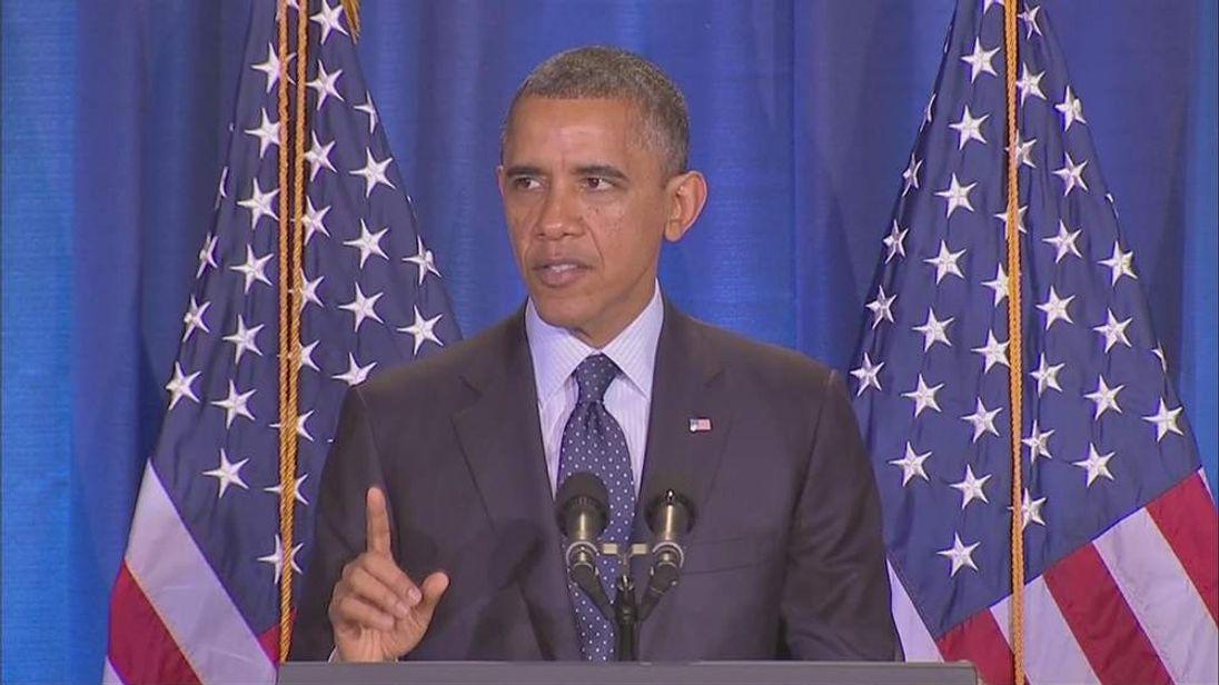 Obama warns Syria