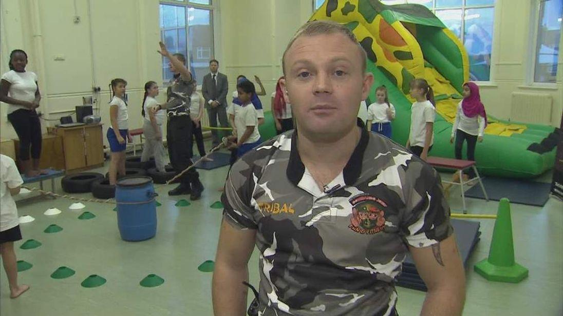 Mike Hamilton of Commando Joes'