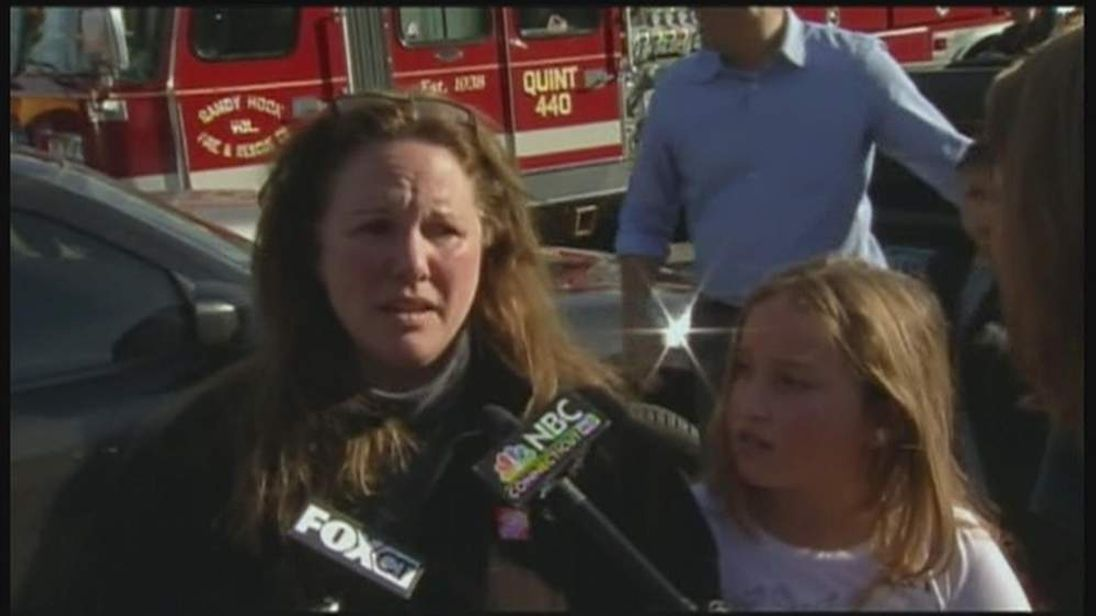 A mother and daughter talk about the shooting