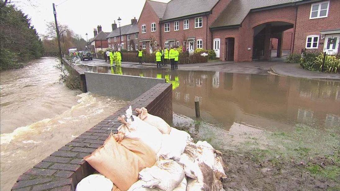 Flooding in Wallington