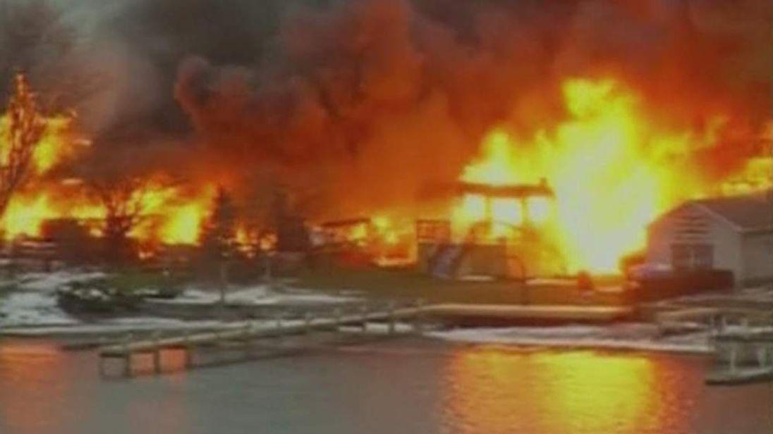 Firefighters killed while battling New York blaze