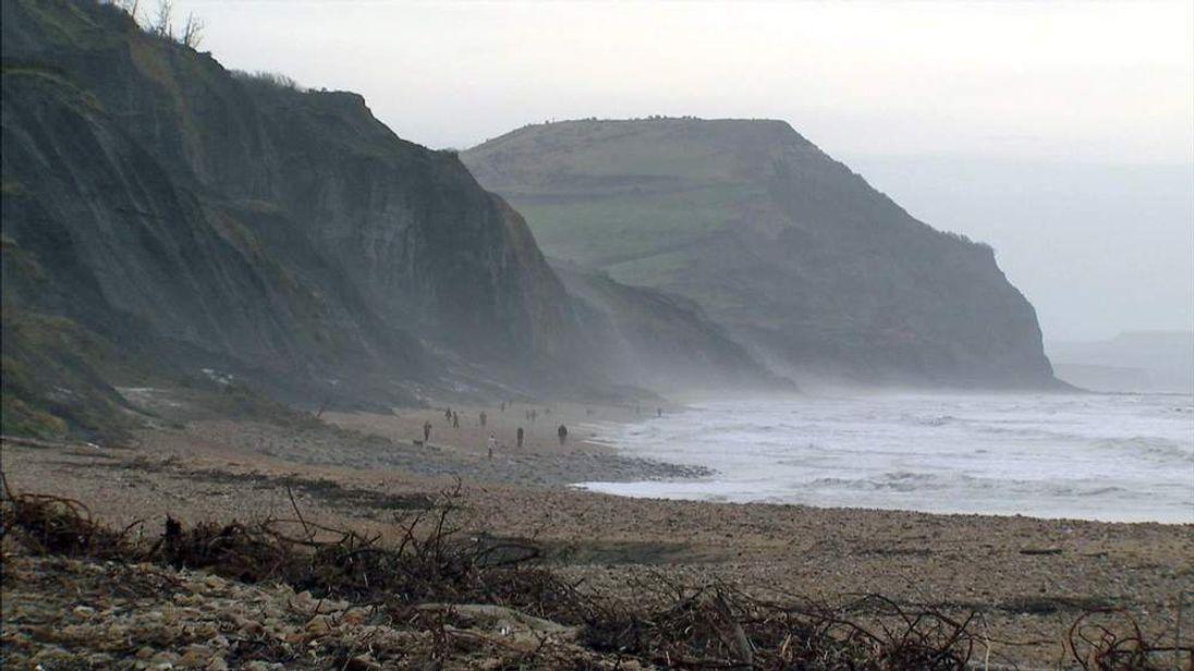 Cliffs on Dorset coast