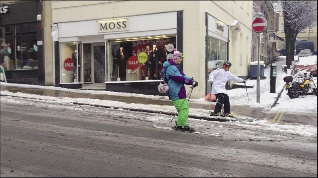 Skiing In Bristol