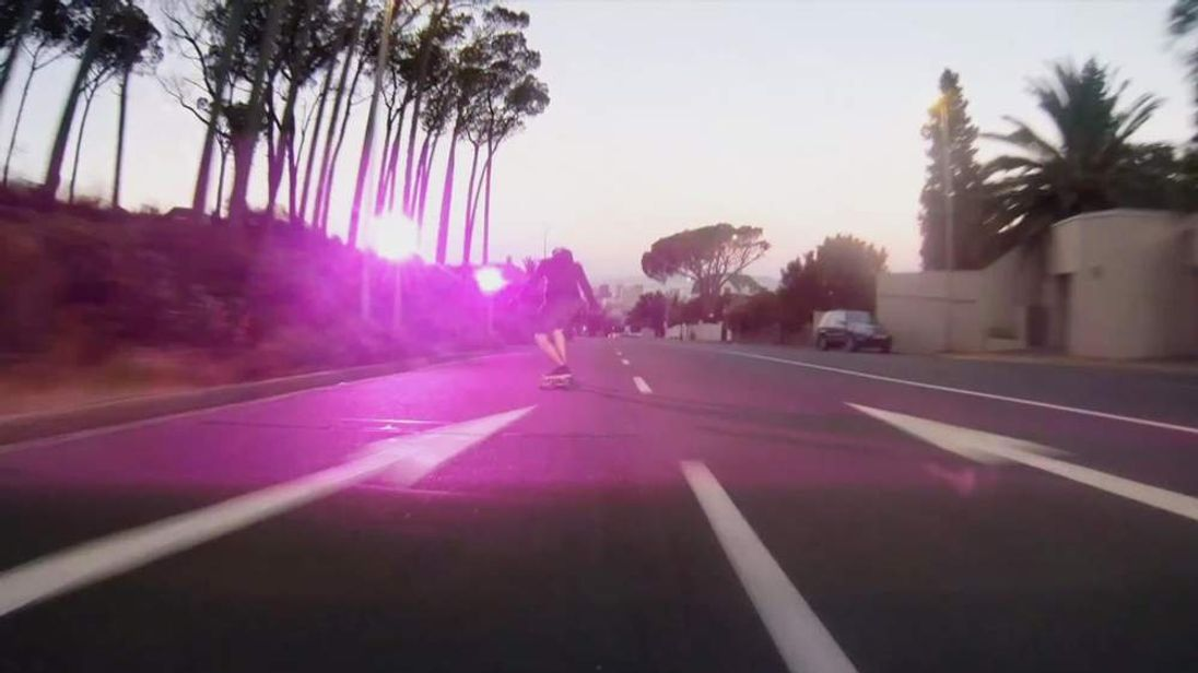 Skateboarder triggered speed camera in South Africa