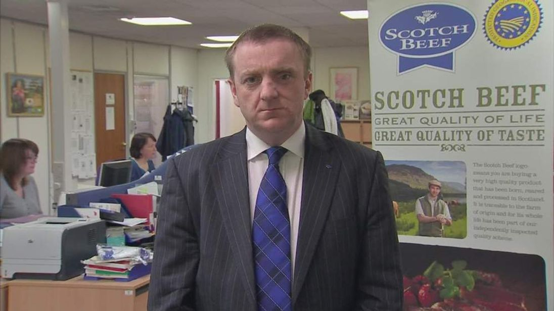 Jim McLaren, Chairman, Quality Meat Scotland