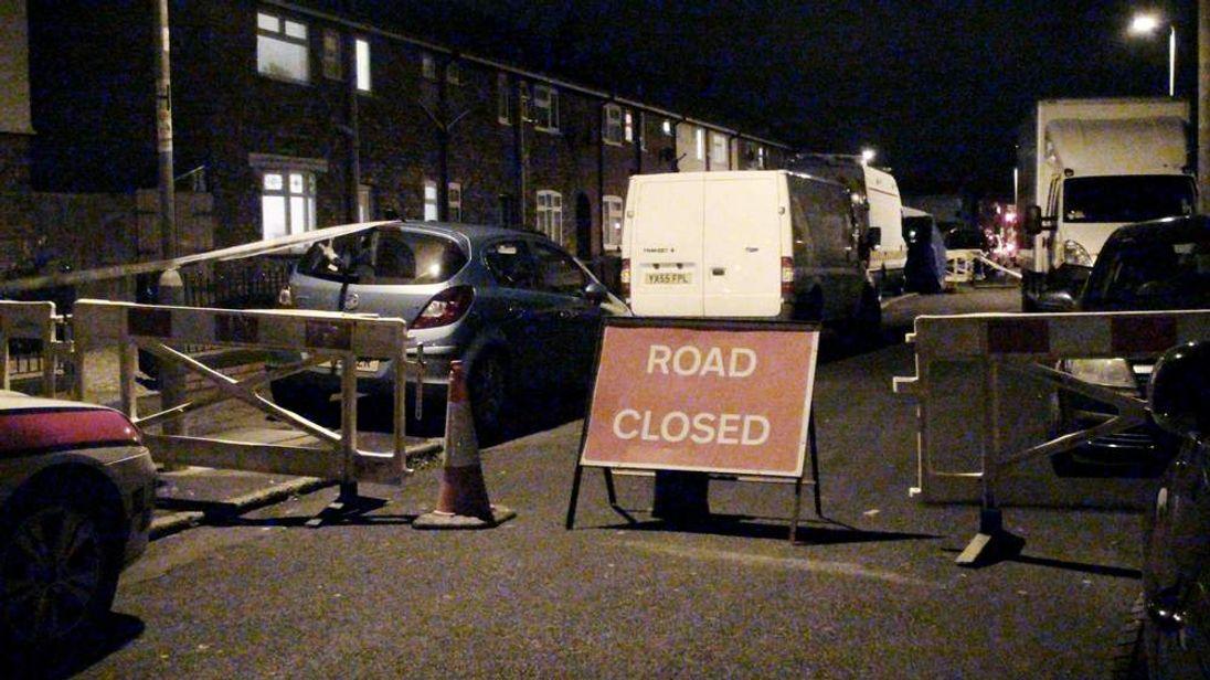 Police on Kilnsea Grove