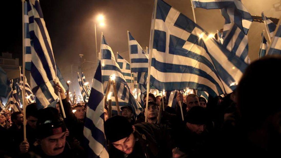 GREECE-TURKEY-POLITICS-PARTIES-GOLDEN-DAWN
