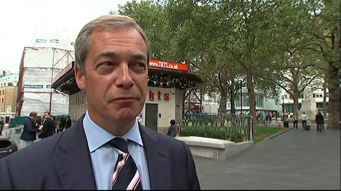 Nigel Garage on Scottish referendum