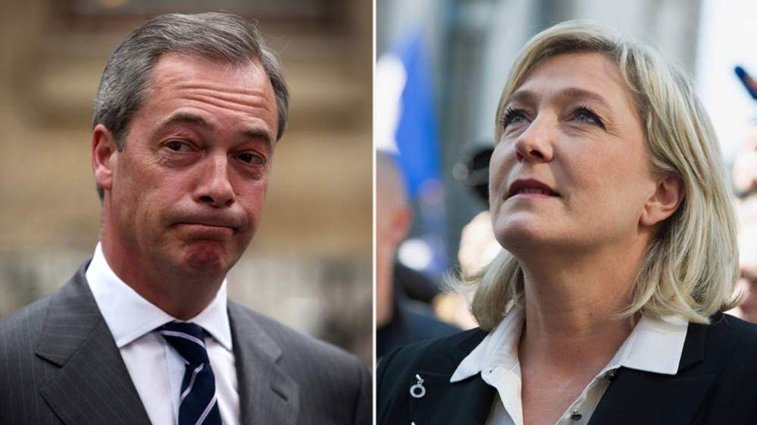 Marine Le Pen claims Nigel Farage slandered her Front National party