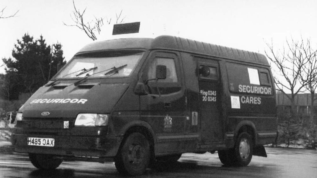 Security van allegedly robbed by 'Fast Eddie' Maher in Felixstowe in 1993