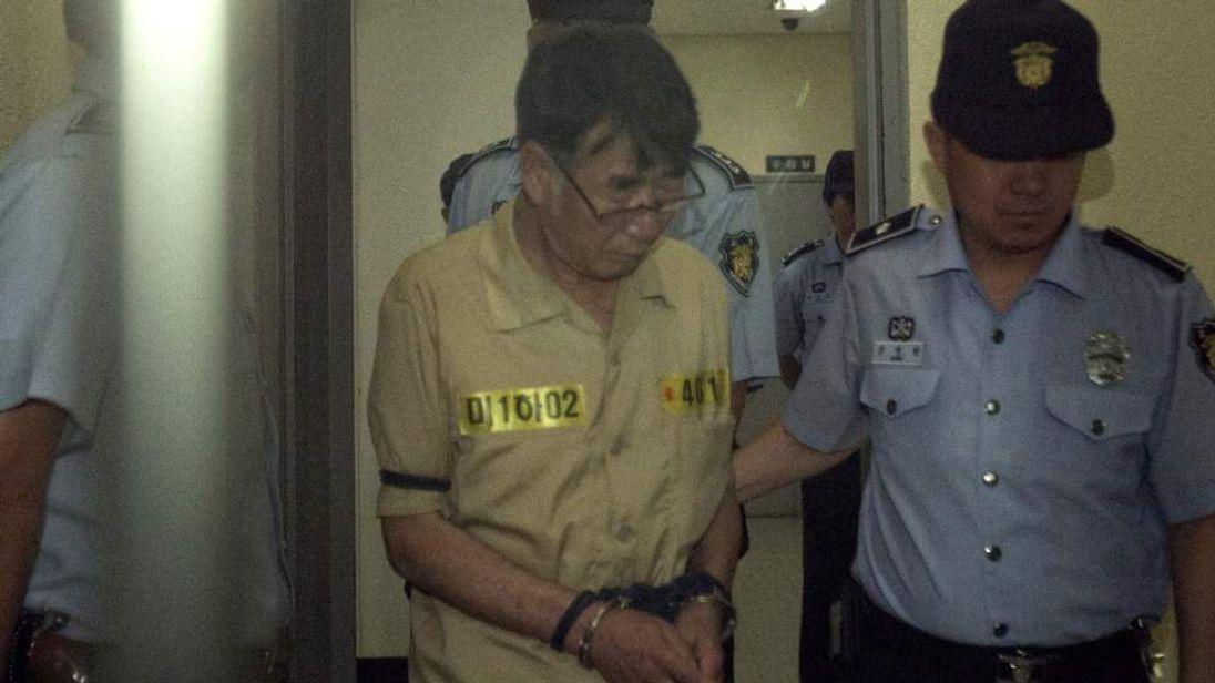 Sunken South Korea ferry trial