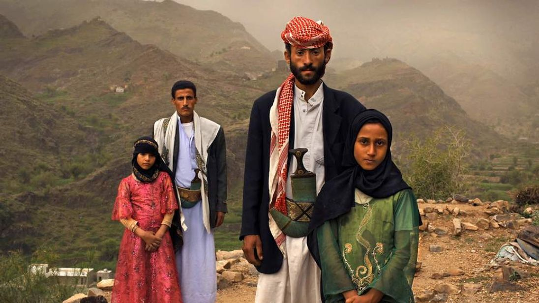 Young girls in Yemen in forced marriages