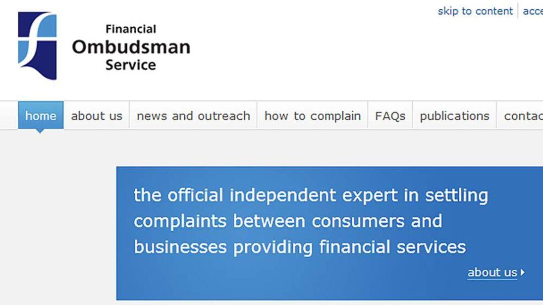 Financial Ombudsman Service website