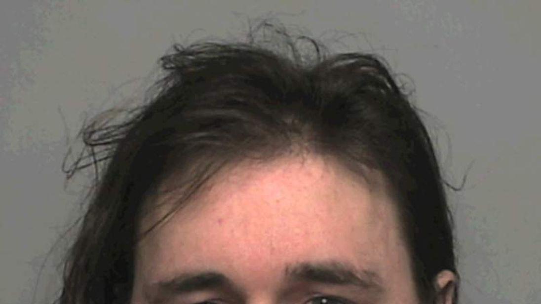 Mark Sandland. Photo courtesy of Sussex Police