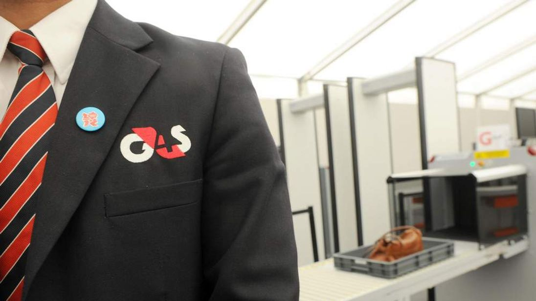 A G4S Olympic employee
