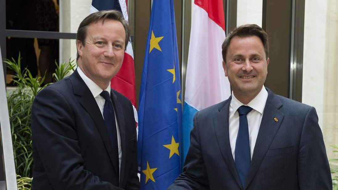 LUXEMBOURG-BRITAIN-DIPLOMACY